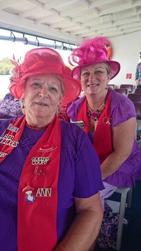 53c30b9ad4e Bribe Island Outing - The Scarlett Ladies  The Red Hat Society